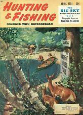 Hunting and Fishing--April 1951-----373