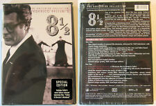 CRITERION COLLECTION FELLINI 8 1/2 2 DISC REGION 1 NTSC DVD NEW & SEALED