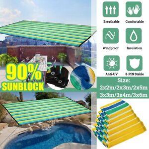 Anti-UV Sunshade Net Outdoor Garden Car Sunscreen Cloth 90% Shading Rate 8 Pin
