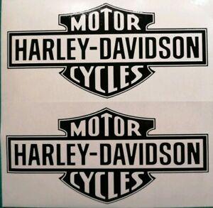 Harley Davidson Retro Logo Aufkleber in Div.Farben(Bild 3) 14 ×6.7 cm.Top