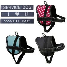 Dog Harness No-Pull Adjustable Outdoor Vest Size Small Medium for Yorkie Poodle