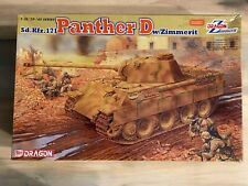 1/35 Dragon Panther D w/Zimmerit - NO TRACKS