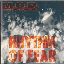 M.O.D. METHOD OF DESTRUCTION - Rhythm of Fear MUSIC FOR NATIONS CD 1992