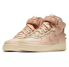 Nike Air Force 1 High Utility 'Pink' Women's Size 9.5 AJ7311-200 Particle Beige
