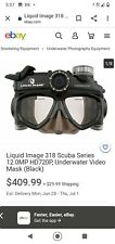 New listing liquid image scuba series Wide Angle HD video 720 P 5 no images. Water Sports