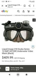 liquid image scuba series Wide Angle HD video 720 P 5 no images. Water Sports