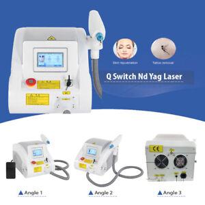 Q Switch ND YAG Carbon Laser Peel Tattoo Eyebrow Removal Skin Whiten Machine 4PX