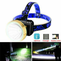 T6 LED Super Bright Waterproof Head Torch Headlight Rechargeable Headlamp Fish