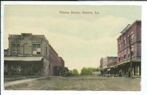 Ruston LA Louisiana Postcard Vienna Street