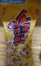 Post Waffle Crisp Cereal-Unopened Sealed Bag Sold Out Rare 2021.