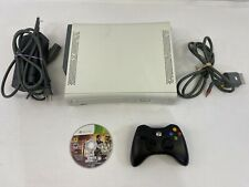 microsoft xbox 360 console white 20g hdd (Has Parental Locks Enabled)