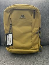 Gregory Border 25 Laptop/Overnight/ Carry On Backpack - Mustard - New with Tags