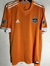 Adidas Authentic MLS Jersey Houston Dynamo Team Orange sz L