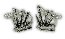 Bagpipes Cufflinks - Music Themed Gift - Gift for Bagpiper