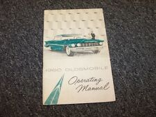 1960 Oldsmobile 88 Ninety-Eight Original Factory Owner Owner's User Guide Manual