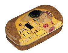 Kontaktlinsendose Metall, Gustav Klimt: Der Kuss