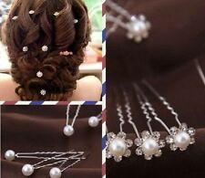 Hochzeit Braut Haarschmuck Kopfschmuck Haarkamm Perle Haargesteck Haarnadeln