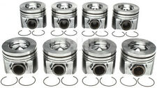 NEW Ford 6.4/6.4L Powerstroke Diesel MAHLE Pistons Set/8 2008-10 +.50mm/+.020""