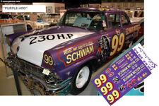 CD_196 #99 Curtis Turner   'Purple Hog'  1956 Ford   1:64 Decals   ~OVERSTOCK~