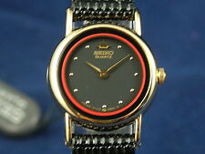Vintage Seiko QUARTZ montre femme 2Y00-0G50 Circa 1980 new old stock NOS