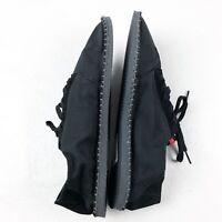 HAVAIANAS Origine Sneaker III Espadrille size 12 M black rubber soles shoes
