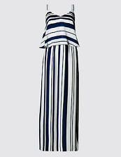 Marks and Spencer Viscose Casual Striped Dresses for Women