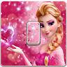 Frozen Elsa Olaf Girls Light Switch Vinyl Sticker Decal for Kids Bedroom #394