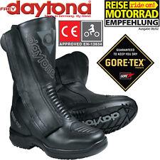 Daytona Gore-Tex motocicleta botas M-Star GTX botas de cuero impermeable talla 42