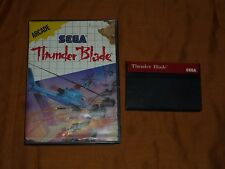 Thunder Blade (Sega Master, 1988) with Case!