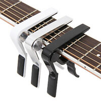 Key Clamp Trigger Quick Change Guitar Capo For Electric / Classic / Acoustic
