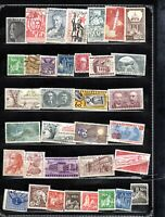 CZECHOSLOVAKIA AST OF 35  ITEMS ALL GENUINE & DIFFERENT VERY NICE LOT #2019CZ04