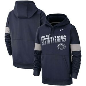 Penn State Nittany Lions Mens Nike Sideline Therma-Fit Performance Hoodie - NWT