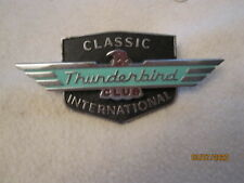 Vintage Classic Thurderbird International Club