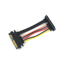 SATA III 22 Pin Right Angle Extension Cable 60 MM