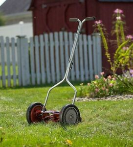 "American 14"" Great States manual reel lawn mower 1204-14 golf course grass"
