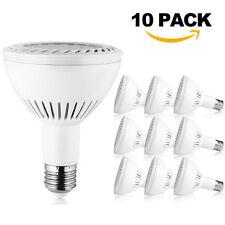 2-10Pack 36W PAR30 LED Flood Light Bulb E27/E26 Medium Base Indoor Spot Lamp