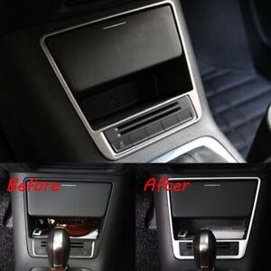 For VW Volkswagen Tiguan 2010-2015 Console Gear Box Storage Box Frame Cover Trim