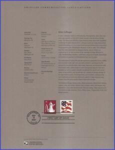 USA7 #3759 U/A SOUVENIR PAGE FDC   Silver Coffee Pot