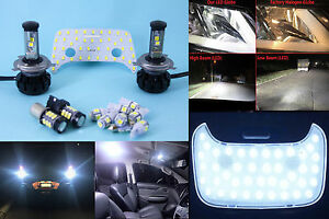 LED Light Upgrade Kit for Mitsubishi MN ML Triton Headlights Interior Reverse