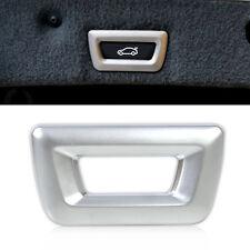 New Chrome Trunk Release Switch Frame Trim for BMW x3 x4 x5 x6 3 5 7 Series
