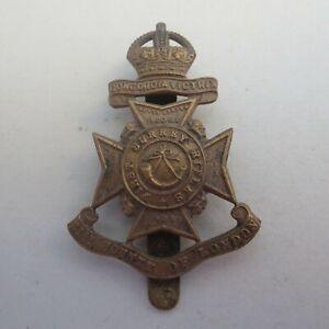 The 21st Battalion London Regiment 1st Surrey Rifles Army/Military Hat/Cap Badge