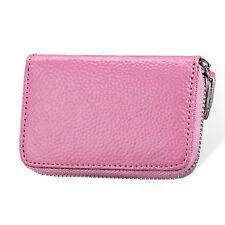 Womens Leather Mini Slim Wallet ID Credit Card Holder Case Organizer Purse DF