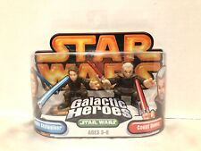 Star Wars Galatic Heroes Anakin Skywalker & Count Dooku