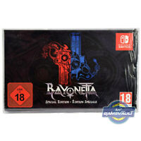 1 BOX PROTECTOR for Nintendo Switch Game Bayonetta Special Edition DISPLAY CASE