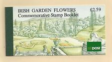 IRELAND  #811-813a  MNH     BOOKLET    'IRISH GARDEN FLOWERS""