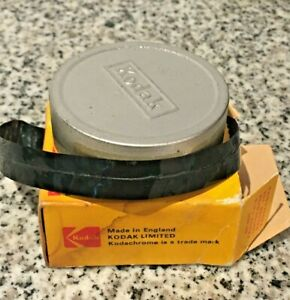 Vintage Kodachrome II Movie Film For Double 8mm Roll Cameras in original box