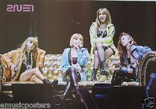 """2NE1 """"I LOVE YOU -GIRLS SITTING ON SOFA"""" POSTER - K-Pop Music, Korean Girl Group"""