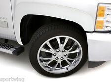 FENDER FLARES PAINTED Smooth Texture SX106S For: CHEVY SILVERADO 1500 2007-2013