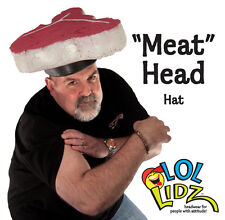"Unique and Easy Men's Costumes - Barbecue Cookout ""Meat Head"" Foam Chef's Hat"