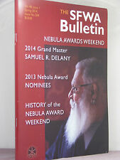 signed by 15, SFWA Bulletin Spring 2014 Nebula Awards Weekend issue